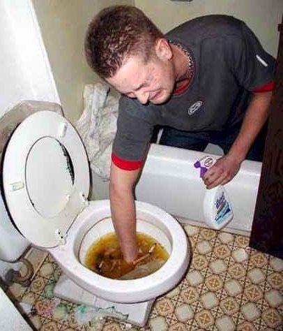 Vessanpöntön puhdistus